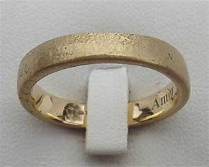 Women's Handmade Gold Wedding Ring : LOVE2HAVE in the UK!