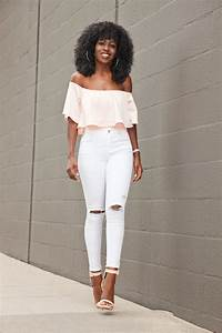 White Ripped Skinny Jeans Outfits | www.pixshark.com - Images Galleries With A Bite!