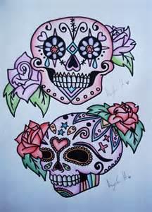 Sugar Skull Tattoo Design