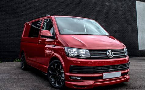 Volkswagen Caravelle 4k Wallpapers by Wallpapers Volkswagen Transporter T6 4k Tuning