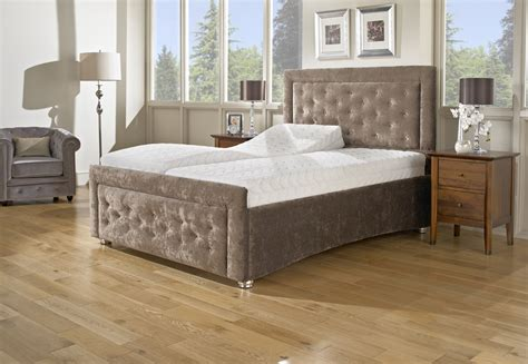 Headboards And Footboards For Adjustable Beds by Verona Adjustable Bed Buttoned Headboard With Matching