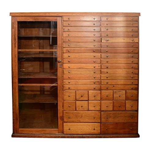 state cabinet elaborate mission apothecary cabinet with 44 drawers