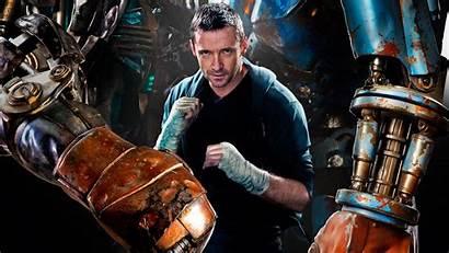 Steel Hugh Jackman Wallpapers Movies Robot Mecha