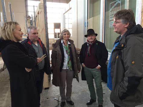 Holzbau Braun Stetten sylvia kotting uhl besucht zusammen mit andrea bogner