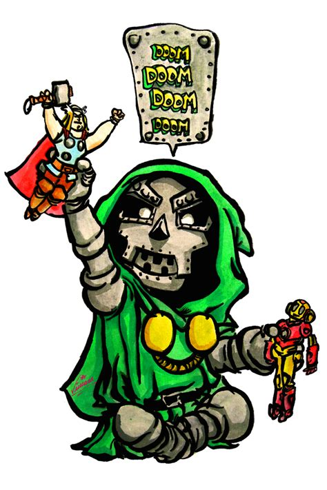 foto de #141 Doctor Doom by Skottie Young by Shkvivi on DeviantArt