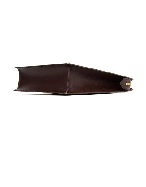 louis vuitton vintage damier ebene coated canvas venice pm sac plat handbag  sale  stdibs