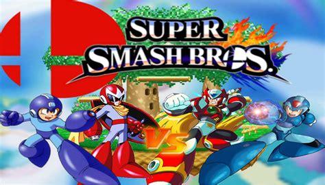 Megaman Vs Megaman X Vs Zero Vs Protoman Nintendo 3ds