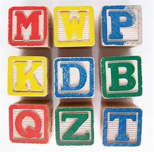 vintage wooden letter alphabet baby blocks With baby wooden letter blocks