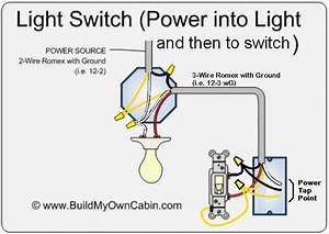 Wiring - Permanent Feed From Light Swicth