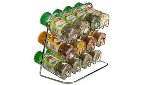 Schwartz Spice Rack 24 by Spice Racks With Schwartz Jars Groupon Goods