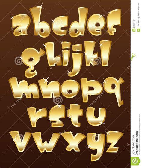 case gold alphabet royalty  stock photography