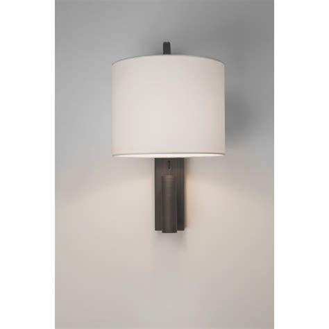 astro 7459 ravello led 2 light wall light bronze