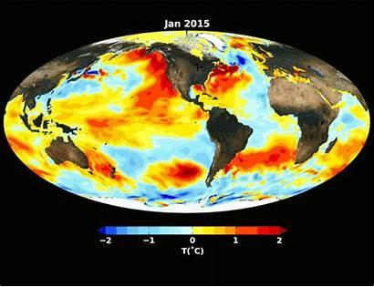 El Ocean Nasa Pacific Nino Temperatures Strong