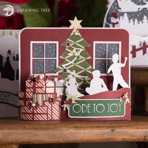 Png file svg file eps file cdr file. Ode To Joy Bendi Card SVG - Dreaming Tree | Christmas ...