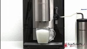 Latte Macchiato Gläser 10 Cm Hoch : how to make a latte macchiato with the miele cm 5100 countertop coffee system youtube ~ Markanthonyermac.com Haus und Dekorationen