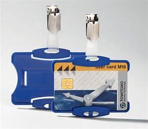 Boite De Sécurité : durable bo te de 25 porte cartes de s curit ouvert avec clip pour 2 cartes bleu contact durable ~ Medecine-chirurgie-esthetiques.com Avis de Voitures