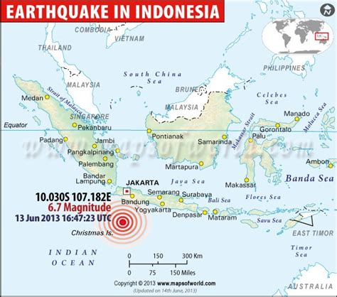 indonesia earthquake map maps pinterest