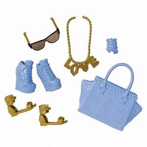 cll57 sac à mauve chaussure accessoire poupée