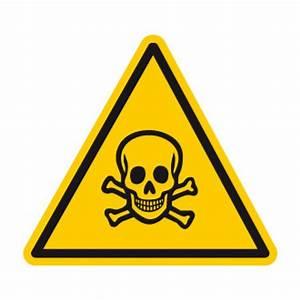 DA13 Picto PVC Danger Matières toxiques Pictogramme danger au travail Pictogramme