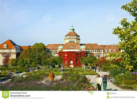 Garten Herbst Setzen by M 252 Nchen Botanischer Garten Im Herbst Redaktionelles Foto
