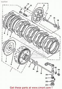 Yamaha Dt175 1979 Usa Clutch