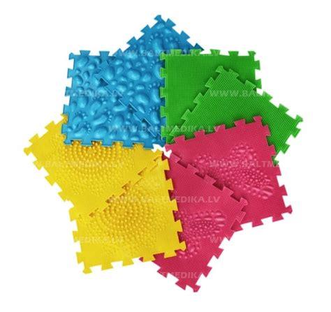 Orto Puzzle paklājiņu komplekts PIRMIE SOĻI - Attīstošās kustību spēles bērniem - baltmedika.lv