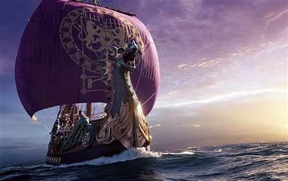 Viking Ship Painting Wallpapersafari Wallpaperup