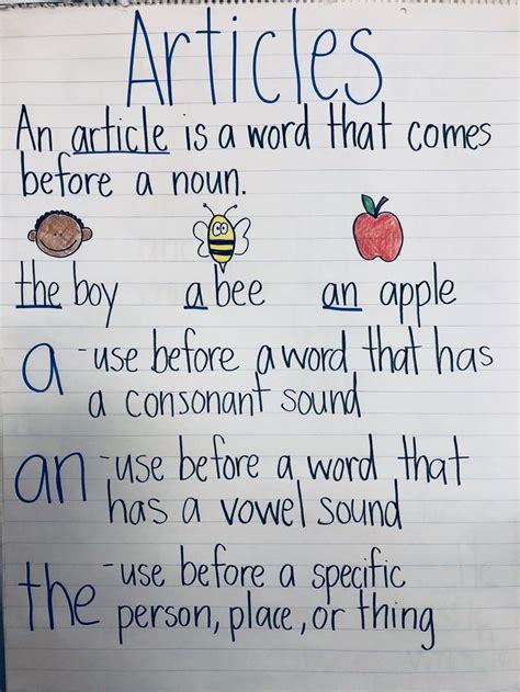 article    grammar anchorchart grammar