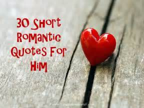 Romantic Love Quotes for Him Short