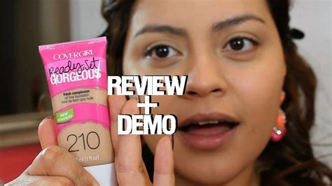 New Covergirl Ready, Set Gorgeous Foundation Review 210