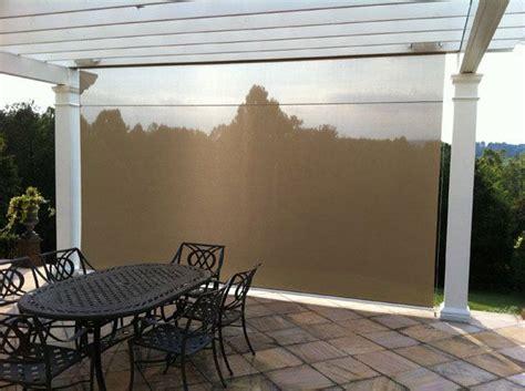 drop  sun shades outdoor eclipse vertical drop retractable solar screen roll  window