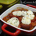 bruschetta chevre chorizo la cuisine de nelly
