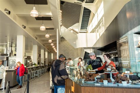 It provides great views of the kansas city star building and crossroads district. Messenger Coffee Co. - Studio BBA