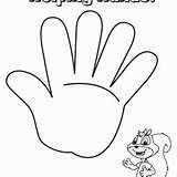 Coloring Outline Drawing Hands Paper Helping Getdrawings sketch template