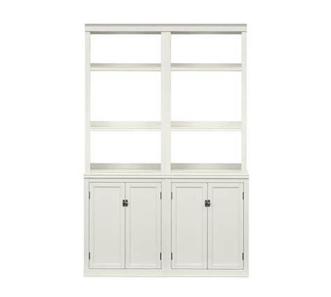 White Bookcase With Cupboard by White Bookcase With Doors White Bookcase Antique