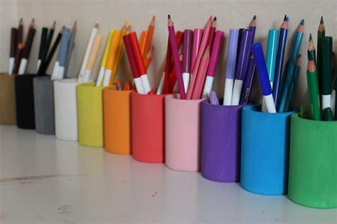 bricolage pot a crayon facile maison design bahbe