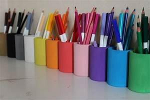 Pot A Crayon : maman nougatine diy les pots crayons fa on montessori maman nougatine ~ Teatrodelosmanantiales.com Idées de Décoration