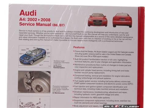 free car repair manuals 2002 audi s4 electronic valve timing ecs news audi b6 a4 1 8t bentley service manual