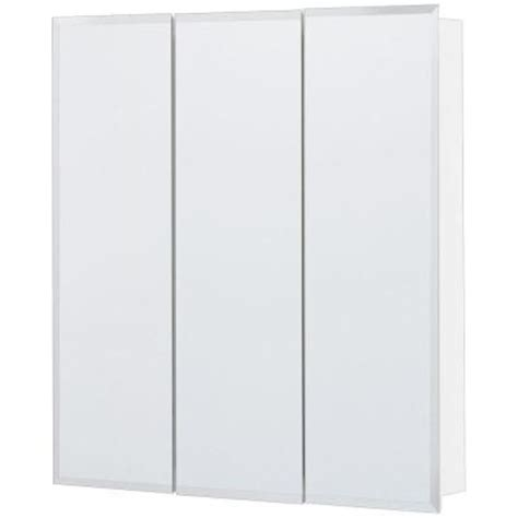 surface mount medicine cabinet with mirror glacier bay 24 in x 24 in surface mount mirrored