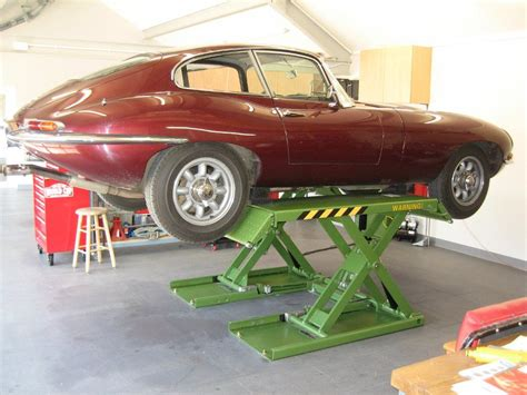 E-type Raised In A Home Garage By Strongman Clifton