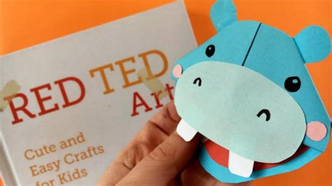 easy hippo bookmark diy easy corner bookmark  tos