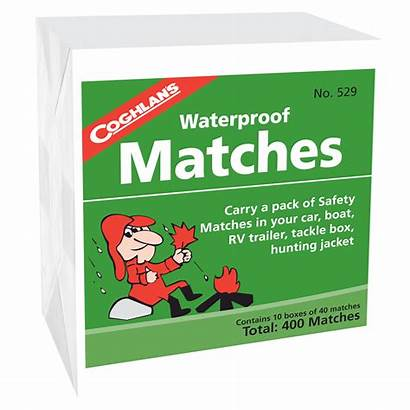 Matches Waterproof Boxed