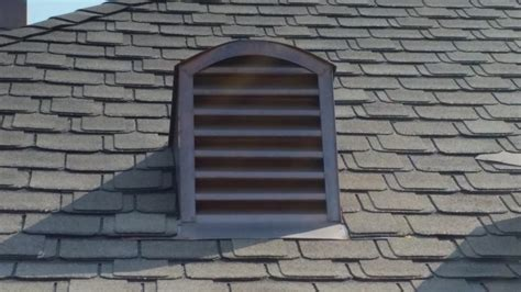 Decorative Gable Vents As A Great View