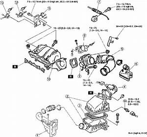 1998 Mazda 626 4 Cyl  Trying To Change The Air Filter But Am Stuck  Diagram In Owner U0026 39 S Manual