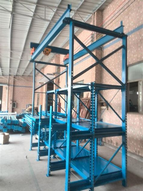 China Injection Mold Storage Racks   Die Roll Out Racks