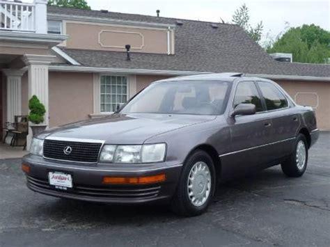 1992 Lexus Ls 400 Data, Info And Specs