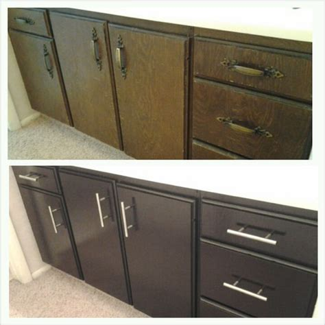 satin finish kitchen cabinets staining bathroom cabinets with general finishes java gel 5076