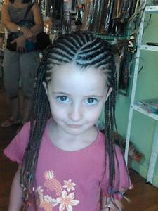 Coiffure Enfant Tresse : natte tresse enfant black and white coiffure castres ~ Melissatoandfro.com Idées de Décoration