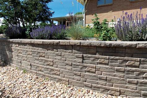 legacy stone ledgestone keystone retaining wall systems