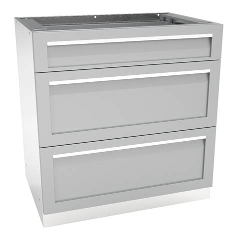 3 Drawer Outdoor Kitchen Cabinet G40003 4 Life Outdoor